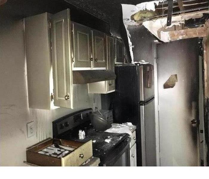 Fire Damage? SERVPRO to the rescue!
