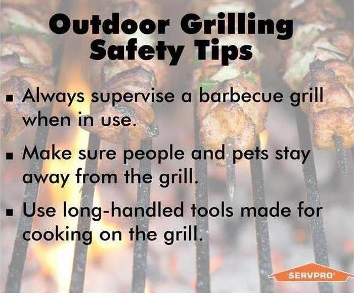 Fire Damage Grilling Can Be Safe & Yummy!